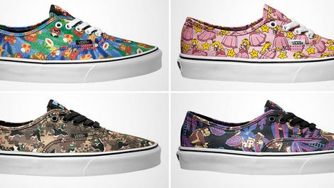 a92e0aa6359b Make Room in Your Shoe Closet Because Vans Has Teamed Up With Nintendo