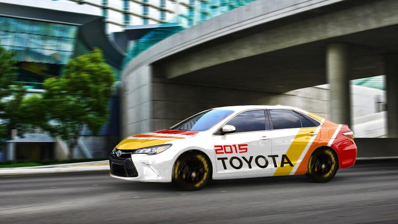 Illustration for article titled Meet the 2015 Toyota Camry...RACE CAR