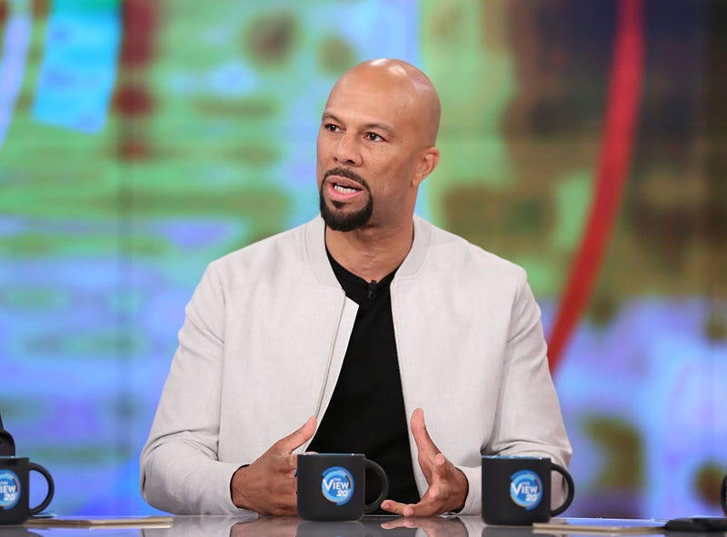 Common during an appearance on ABC's The View on Sept. 27, 2016Heidi Gutman/ABC via Getty Images