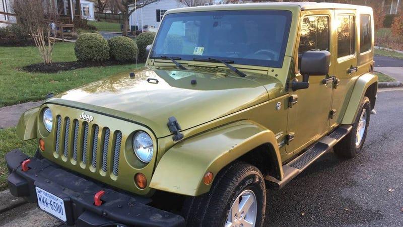 At 36 000 Might This Hemi Powered 2008 Jeep Wrangler Wrangle