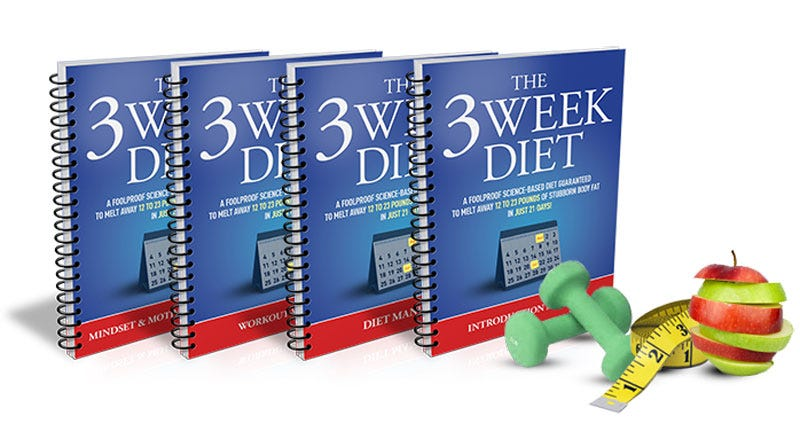 Illustration for article titled The 3 Week Diet Review