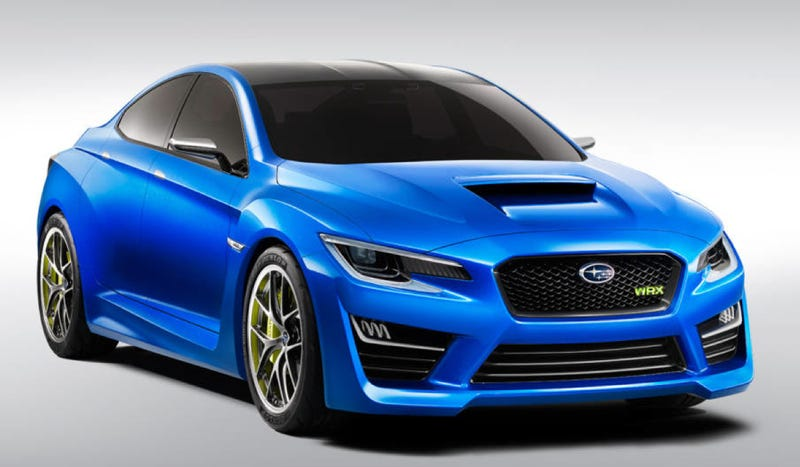Illustration for article titled The Subaru WRX Concept Is A Rally Fighter For The Common Man