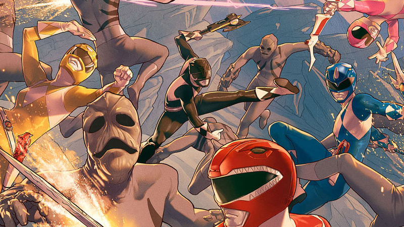 Illustration for article titled Boom's New Comic Book Power Rangers Look Unsurprisingly Like Power Rangers