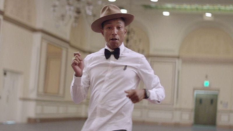 "Pharrell Williams, ""Happy"""