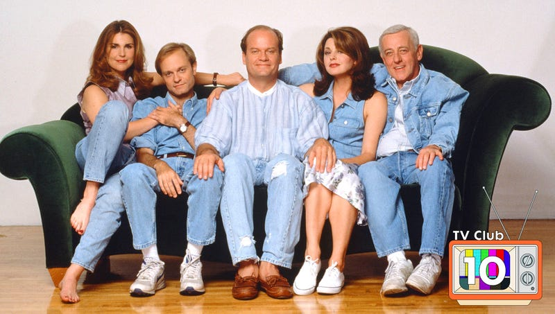 10 episodes of Frasier for when you hear the blues a-callin'