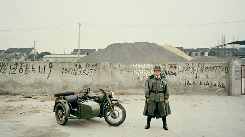 Illustration for article titled Meet the Badass Sidecar Riders of Shanghai