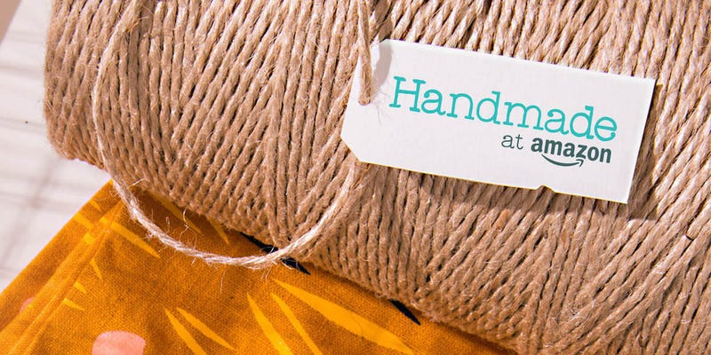 Illustration for article titled Amazon Just Launched an Etsy Clone to Sell Handmade Items