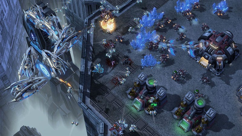 Illustration for article titled StarCraft II Demo Upgraded to StarCraft II: Starter Edition