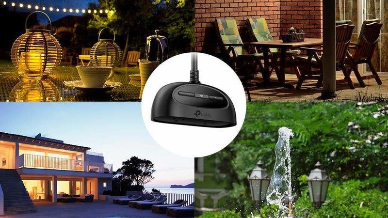 TP-Link Kasa Dual Outdoor Smart Plug   $30   Amazon   Clip the $5 coupon