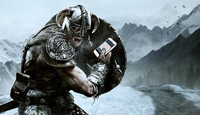 Illustration for article titled I Have a To-Do List Just for Skyrim, and It's Made Gaming So Much Better