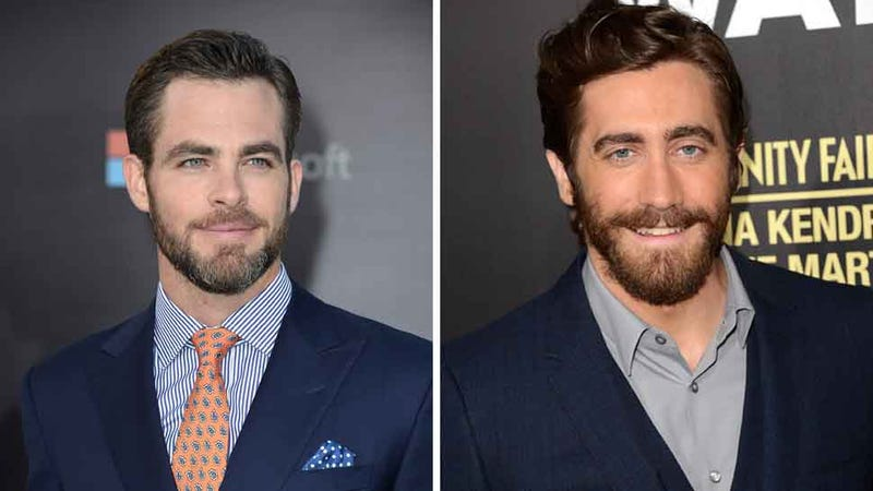 Illustration for article titled Charming! Chris Pine & Jake Gyllenhaal Might Be Headed Into the Woods