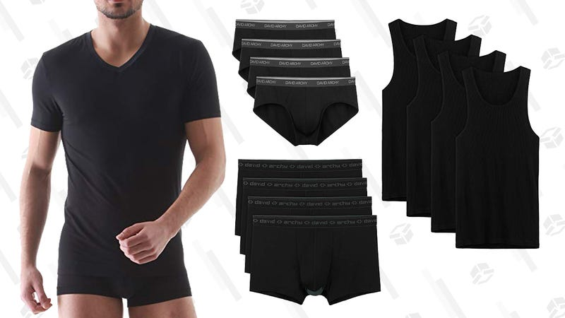 20% Off David Archy Underwear | Amazon | Use code MEN20OFF20% Off David Archy Undershirts| Amazon | Use code 20OFFMEN