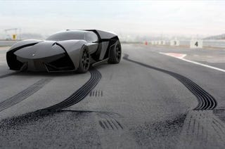 Illustration for article titled Lamborghini Akonian: Concept Photos