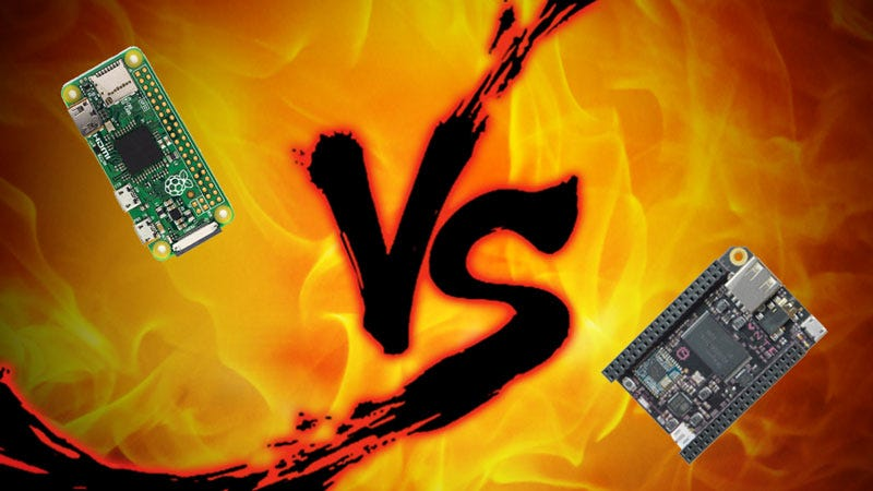 Illustration for article titled Affordable Electronics Board Showdown: Raspberry Pi Zero vs. C.H.I.P.