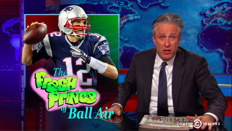 "Illustration for article titled Jon Stewart Takes On Ballghazi: ""Tommy ... You Cheating Fucker"""