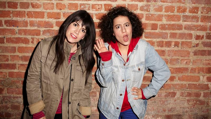 Illustration for article titled The characters of Broad City don't want to be liked—they want to be funny