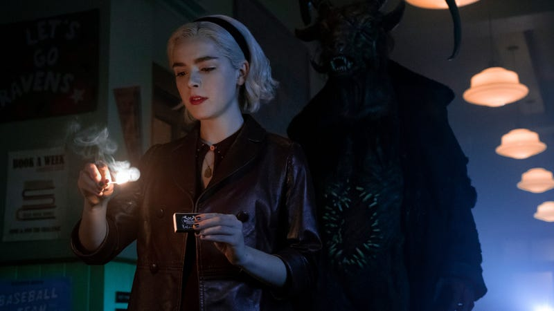 Illustration for article titled Chilling Adventures Of Sabrina creator confirms season 3 is going to hell