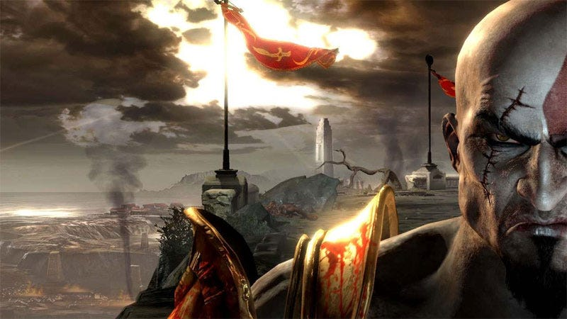 Illustration for article titled Crazy Man Wanted God Of War III To Be An FPS