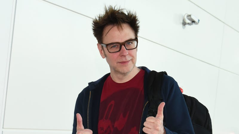 "Illustration for article titled Guardians fans have raised thousands to put up a ""Rehire James Gunn"" billboard near Disneyland"
