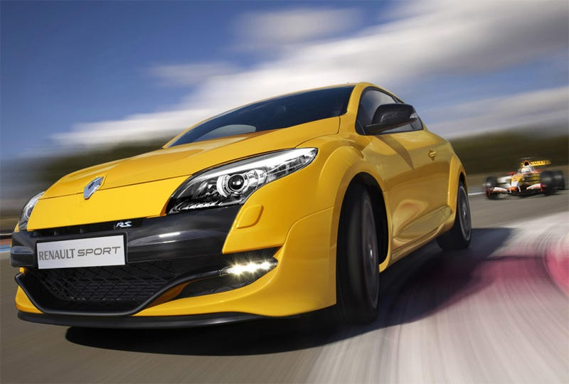Illustration for article titled Renault Sport Mégane RS: Nous Vous Aimons Dans Jaune