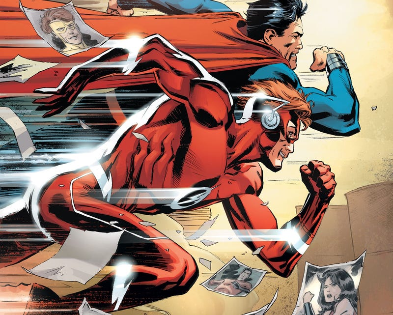 Illustration for article titled Two Old Friends Reconnect in Titans #7