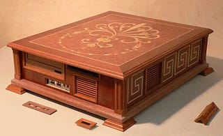Illustration for article titled PC Made of Redwood Gives Us Wood