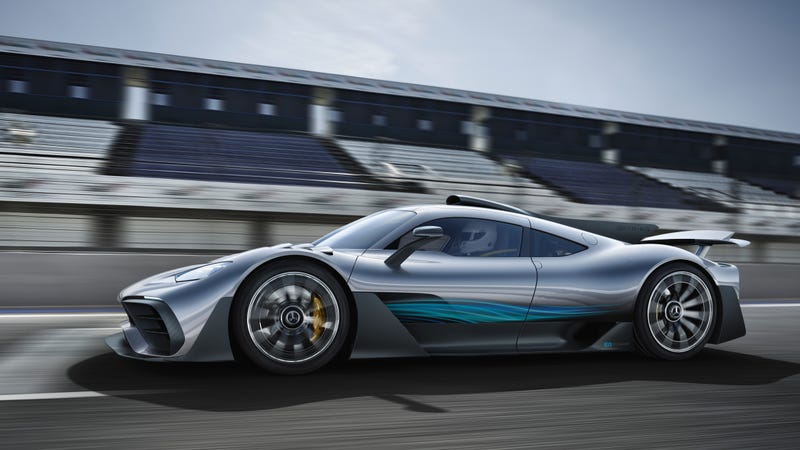 Illustration for article titled Mercedes-AMG Is Also Forbidding New Buyers From Flipping Their Project One Hypercars: Report