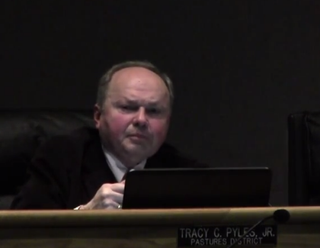 Augusta County, Va.., Supervisor Tracy PylesYouTube screenshot