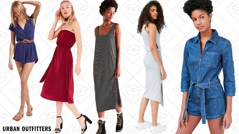 20% off all dresses and rompers