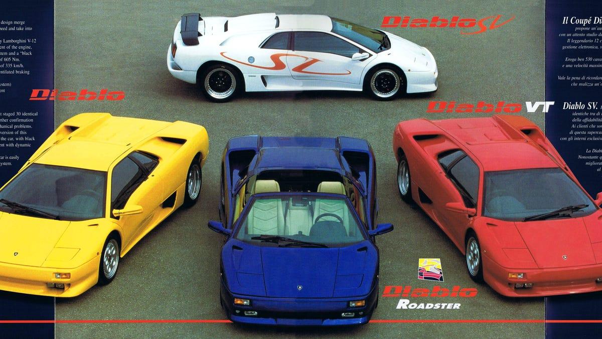 Here S How Lamborghini Sold The Diablo In 1999