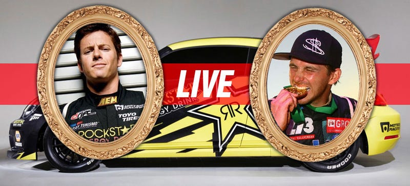 Illustration for article titled Ask Global Rallycross Stars Scott Speed And Tanner Foust Anything