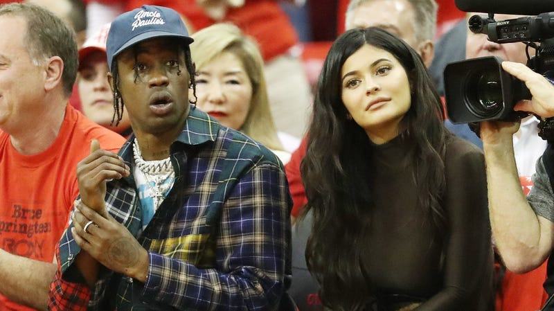 Illustration for article titled Travis Scott Said 'I Need a Boy' When He Found Out Kylie Jenner Was Pregnant