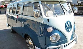 Illustration for article titled VW Bus Stolen 35 Years Ago Found In Shipping Container