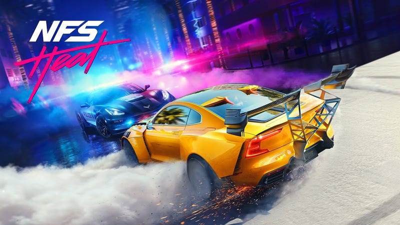 Illustration for article titled Need For Speed Heat's Hero Car Is A Turned-Up Polestar 1