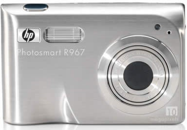 Illustration for article titled HP Photosmart R967: 10 Megapixels, Small Package