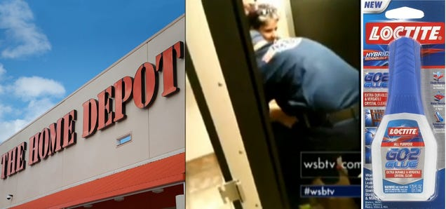 Man Who Gets Butt Stuck On Toilet Seat In Home Depot 46