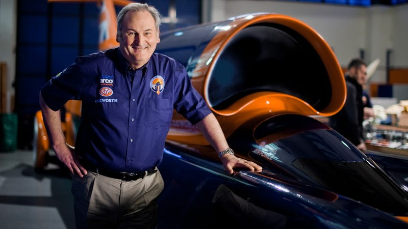Illustration for article titled Ask Land-Speed Legend, 1000-mph Seeker Richard Noble Anything