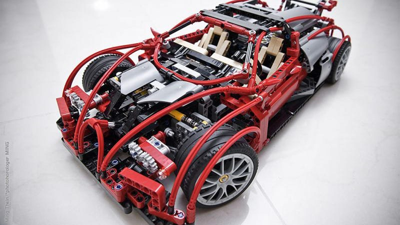 Illustration for article titled Ten amazingly realistic cars made out of Legos