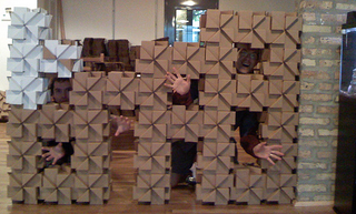 Illustration for article titled Bloxes Cardboard Modular Building Blocks