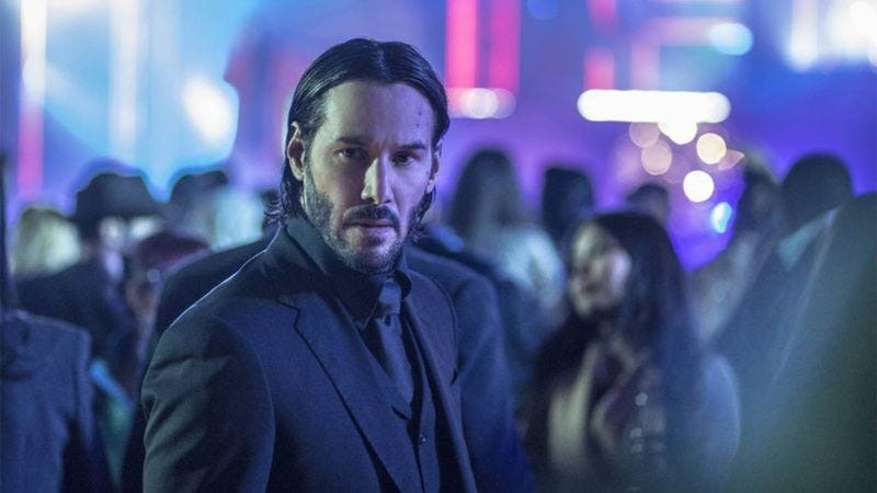 Illustration for article titled Keanu Reeves has at least one more John Wick movie in the chamber