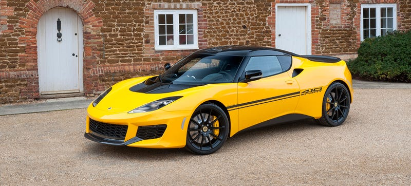 Illustration for article titled Lotus Cut Another 154 Pounds Off The Already Light Evora 400