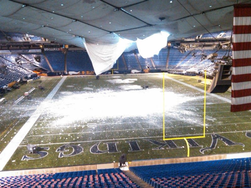 Illustration for article titled The Metrodome Should Be Condemned