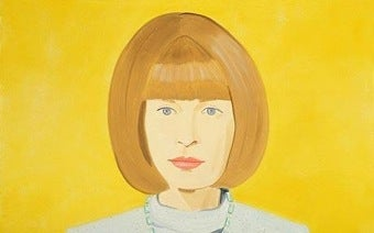 Illustration for article titled The Devil Wears Yellow: Anna Wintour Immortalized In Art