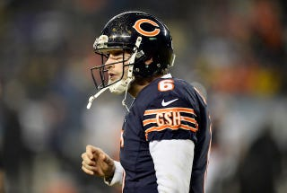 Illustration for article titled Jay Cutler Has Been Benched For ... Jimmy Clausen? Wait, Really?