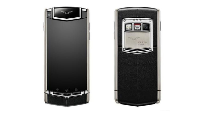 Illustration for article titled Vertu's New Android: Handmade in England, Dog Ugly and $10,000
