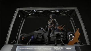 Illustration for article titled This Remote Control Batman Tumbler is Jaw-Droppingly Awesome
