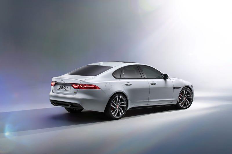 Illustration for article titled TIL Jaguar redesigned the XF
