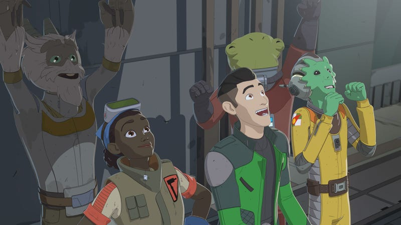 Get excited! Star Wars Resistance will be back this fall.