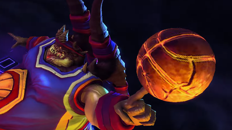 Illustration for article titled Diablo Boss Azmodan Returns To Heroes of the Storm With Basketballs