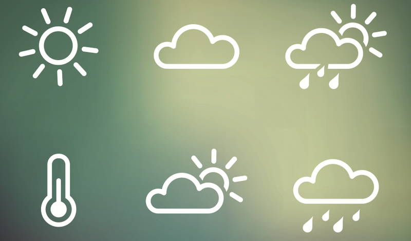 Illustration for article titled Who Designed the Weather Icons?